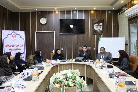 کارگاه آموزشی روانشناسان برنامه ی ملی هنگام ازدواج و پیش از ازدواج