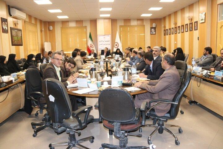 گزارش تصویری| چهارمین شورای اداری بهزیستی استان در سال 98
