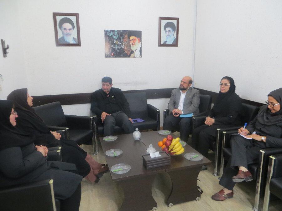 نشست هم اندیشی مناسب سازی با حضور نایب رییس بهزیستی کشور در شهرستان بوشهر برگزار شد