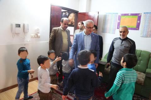 بابل| بازدید سرپرست بهزیستی استان از مراکز شبانه روزی نگهداری سالمندان باب الحوائج و کودکان امام علی(ع)