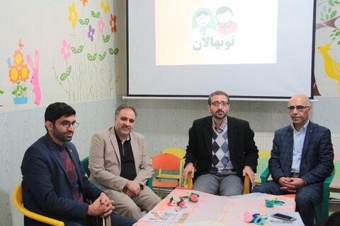 گزارش تصویری نشست مدیرکل امور کودکان و نوجوانان سازمان بهزیستی کشور با کانون توسعه مهدهای کودک استان سمنان