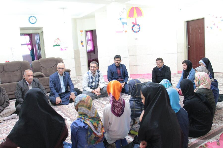 گزارش تصویری ا حضور مدیرکل امور کودکان و نوجوانان سازمان بهزیستی کشور در شهرستان شاهرود و دامغان
