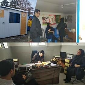 ساوجبلاغ | بازدید کارشناسان استانی و شهرستانی از نحوه ارائه خدمات مراکز درمان اعتیاد و کاهش آسیب ساوجبلاغ