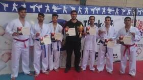 موفقیت ناشنوایان ایلامی در مسابقات کشوری کاراته