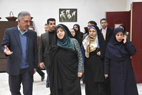 بازدید معاون رییس جمهور از ۲ مرکز نگهداری زنان و دختران آسیب دیده در مشهد