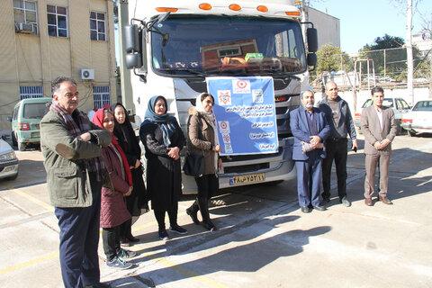 ارسال چهارمین محموله کمک های جمع آوری شده مردم استان فارس