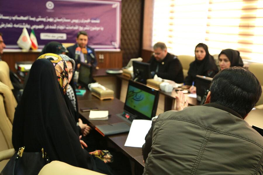 نشست خبری دکتر قبادی دانا با اصحاب رسانه با موضوع تشریح اقدامات انجام شده در خصوص بخشنامه تعارض منافع