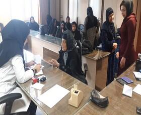 برگزاری طرح مراقبت از سالمندان در بهزیستی کامیاران