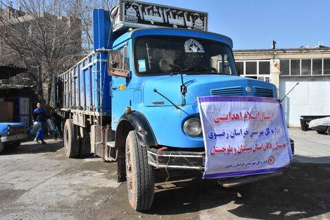 ارسال دومین محموله کمک های بهزیستی خراسان رضوی به مناطق سیل زده سیستان و بلوچستان