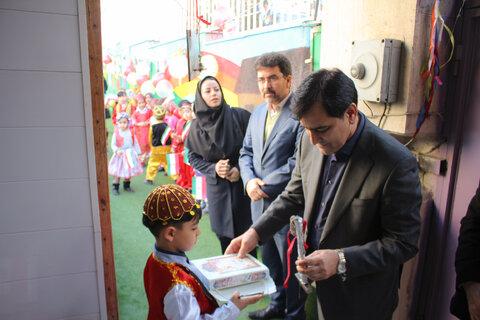زنگ انقلاب در مهدهای کودک استان البرز طنینانداز شد