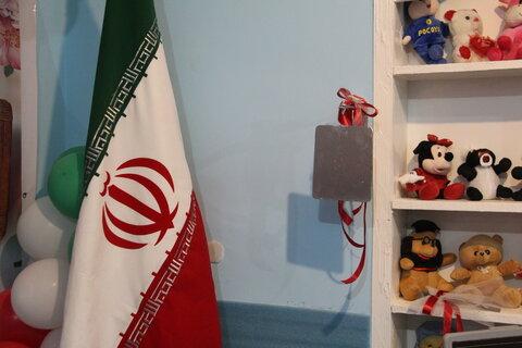 گزارش تصویری نواختن زنگ انقلاب در مهد کودک مهستان ایلام
