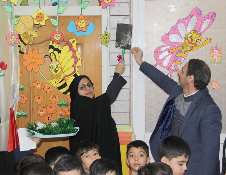 زنگ انقلاب در مهدهای کودک سراسر استان به صدا در آمد
