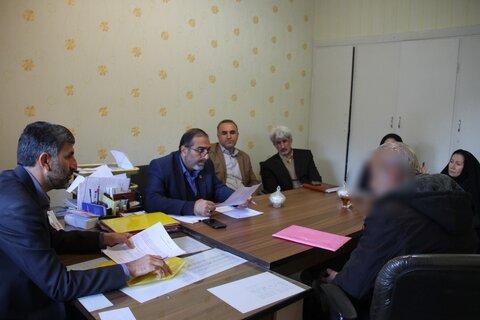 دیدار مددجویان و متقاضیان ملاقات حضوری با مدیرکل بهزیستی استان فارس