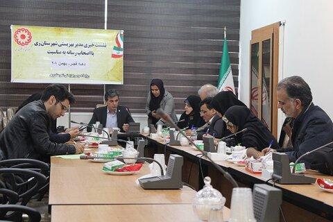 ری | نشست خبری مدیر بهزیستی شهرستان ری برگزار شد