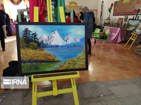 گزارش تصویری ا نمایشگاه مددجویی