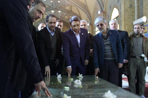 گزارش تصویری| مراسم غبار روبی مزار شهدای انقلاب اسلامی و  سازمان بهزیستی