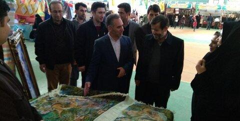 خلخال ا چهل و یک سال بالندگی؛ افتتاح نمایشگاه دستاوردهای انقلاب اسلامی در خلخال