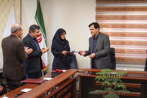 گزارش تصویری | مراسم تکریم شیوا اکبری معاون سابق توانبخشی بهزیستی استان البرز برگزار شد