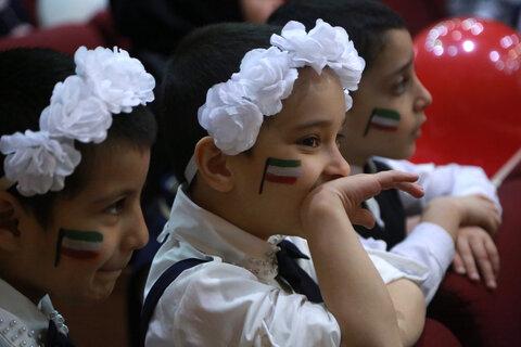 جشن انقلاب ویژه چندقلوهای