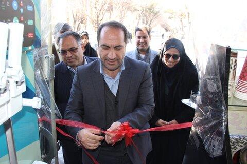 گزارش تصویری| با حضور معاون  استاندار اصفهان، از طرحهای خدماتی و اشتغال شهرستان لنجان بهرهبرداری شد