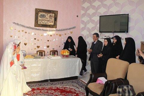 ری | جشن تکلیف دختران شبه خانواده بهزیستی شهرستان ری برگزار شد