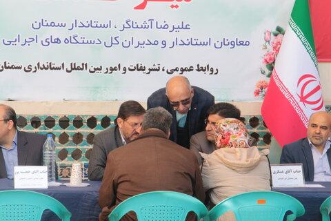 گزارش تصویری ا برگزاری میز خدمت در نماز جمعه بمناسبت دهه فجر