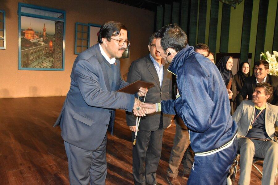 اختتامیه بازی های بومی در مشهد با حضور دکتر قبادی دانا