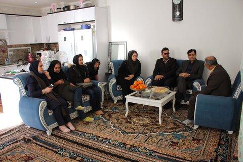 گزارش تصویری | افتتاح واحد مسکونی روستایی توسط مدیرکل بهزیستی استان