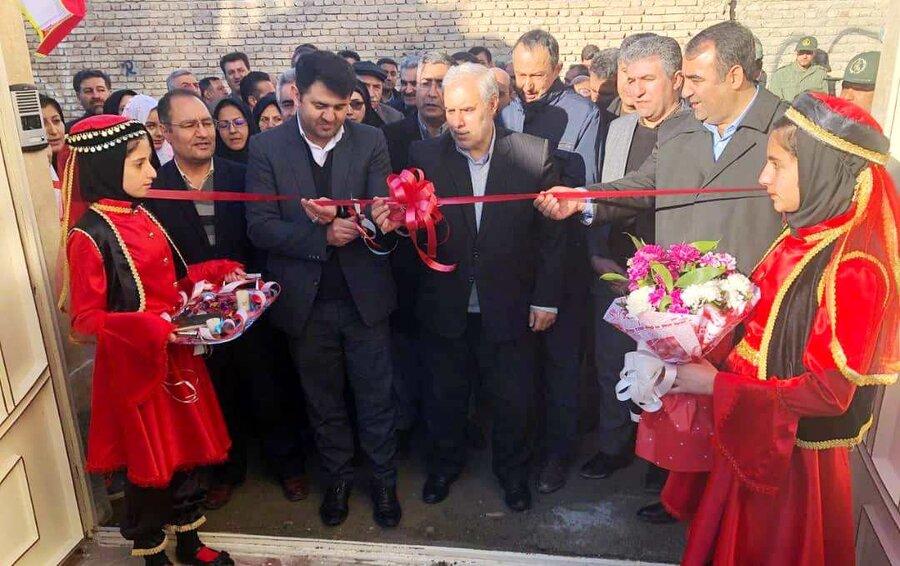 افتتاح ساختمان موسسه خیریه کودکان و نوجوانان صبا در سلماس بمناسبت ایام الله دهه فجر