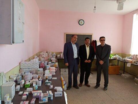 اجرای طر ح جهادی درمانی در هرمز آباد رفسنجان