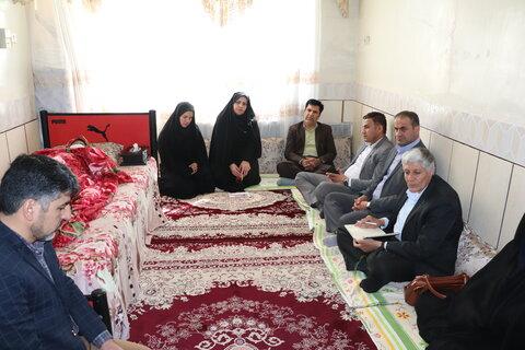حضور سرپرست بهزیستی استان در شهرستان بن