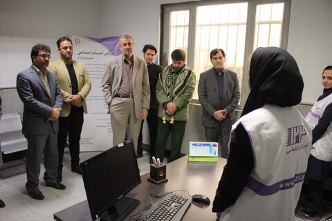 مرکز اورژانس اجتماعی محمدشهر کرج افتتاح شد
