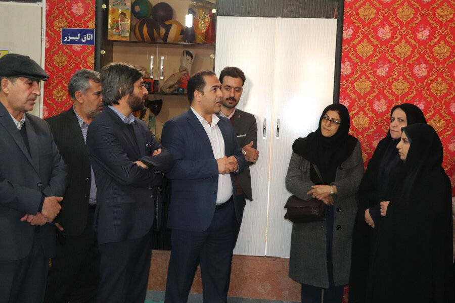 شهرستان بروجن/افتتاح اولین  مرکز روزانه معلولین ذهنی زیر 14 سال در استان چهارمحال و بختیاری