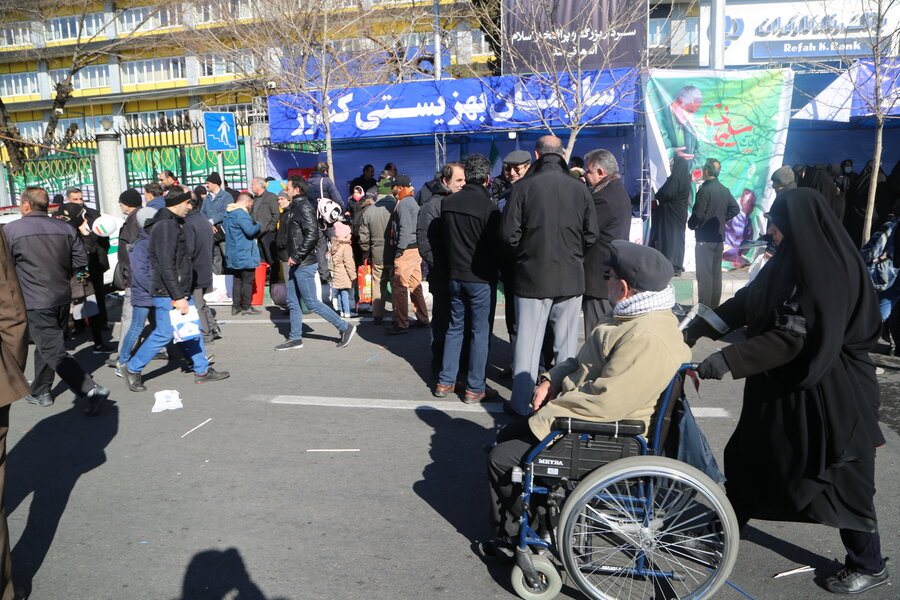 سخنان رئیس سازمان بهزیستی کشور در راهپیمایی ۲۲ بهمن ۱۳۹۸
