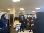 بازدید رئیس سازمان بهزیستی از اداره بهزیستی کیش و دیدار و گفتگو با همکاران