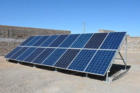 35 مورد پنل خورشیدی جهت توانمندسازی مددجویان افتتاح شد
