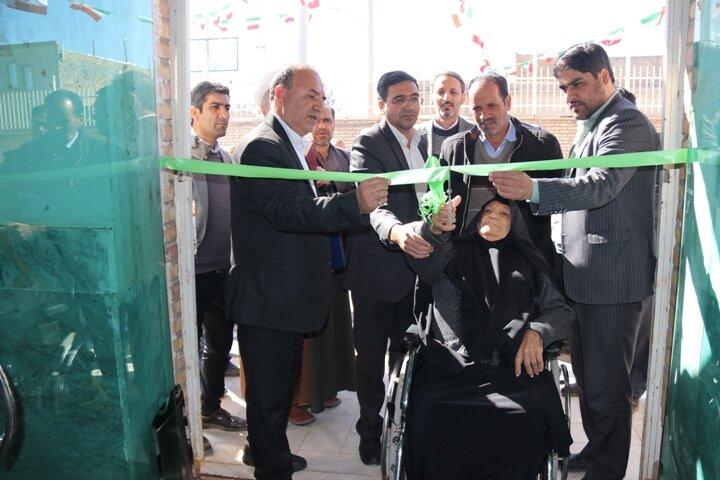 آران و بیدگل| توسعه خدمات اجتماعی با بهره برداری از مجتمع خدمات بهزیستی غیر دولتی شهید طالبی