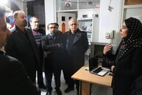 بازدید دکتر فرزاد گوهردهی از مراکز شبانه روزی تحت پوشش بهزیستی استان