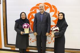 گزارش تصویری از مراسم تودیع و معارفه معاونت توانبخشی استان