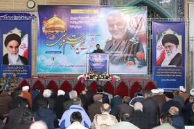 حضور مجموعه بهزیستی در مراسم بزرگداشت شهید سپهبد حاج قاسم سلیمانی