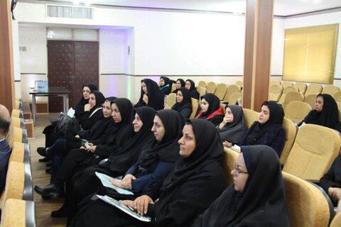 گزارش تصویری ا حضور مدیرکل امور بانوان و خانواده در بهزیستی استان و مراکز تحت نظارت