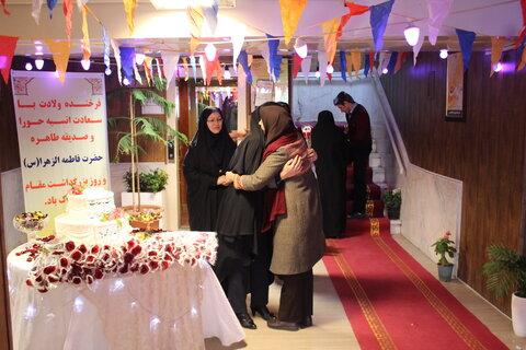 در روز ولادت با سعادت حضرت فاطمه زهرا (س) و روز مادر  از بانوان شاغل بهزیستی استان البرز بهزیستی تقدیر شد