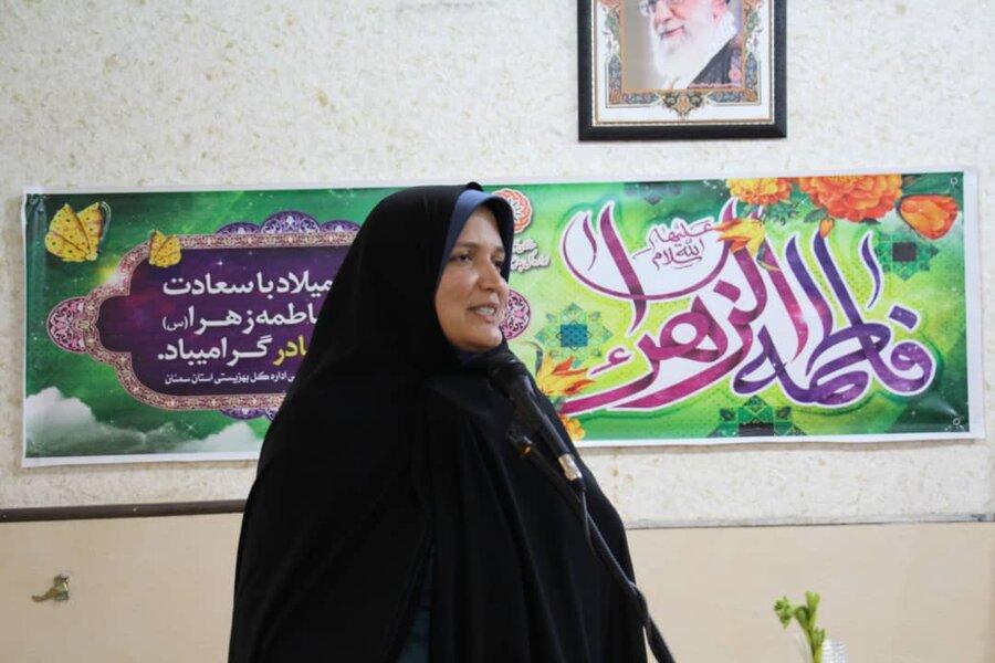 گزارش تصویری ا حضور مدیرکل امور بانوان و خانواده استانداری استان سمنان در بهزیستی استان و مراکز تحت نظارت