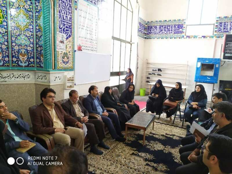 نمایشگاه پیشگیری از آسیب های اجتماعی در محله سید طاهرالدین بم