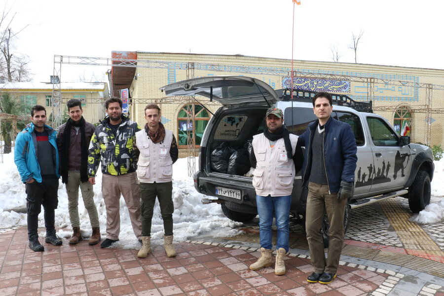 اعزام سیزدهمین اکیپ ویژه امداد رسانی بهزیستی گیلان به مناطق صعب العبور