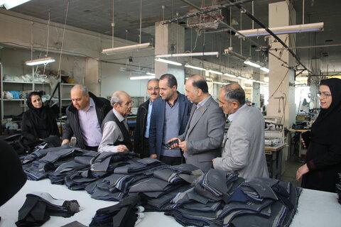 گزارش تصویری  مدیرکل بهزیستی استان تهران از مجتمع خدمات بهزیستی ولیعصر(عج) بازدید کرد