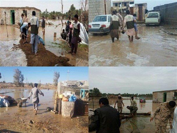 /گزارش اقدام/ اقدامات و حمایت های سازمان بهزیستی کشور برای مناطق سیل زده استانهای جنوب کشور