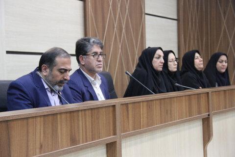 برگزاری   جلسه شورای اداری اداره کل بهزیستی فارس