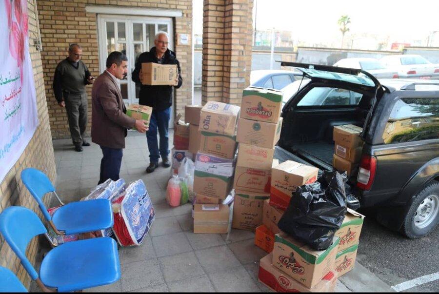 ارسال کمک های اداره کل بهزیستی استان مازندران به گیلان