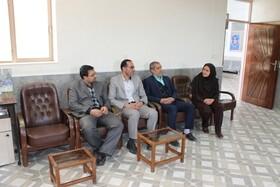 فریدن| دیدار صمیمانه رئیس دادگستری شهرستان در روز زن